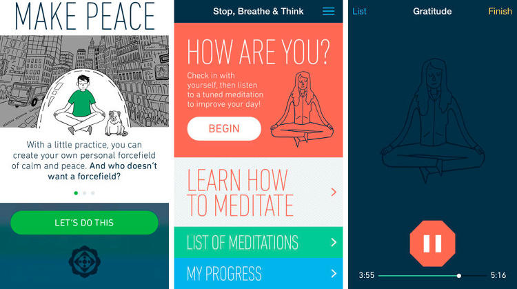 Stop Breath And Think | Five Mental Health Apps