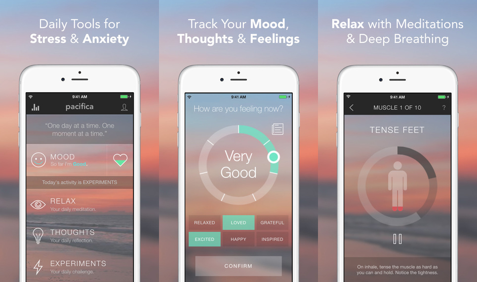 Pacifica | Five Mental Health Apps