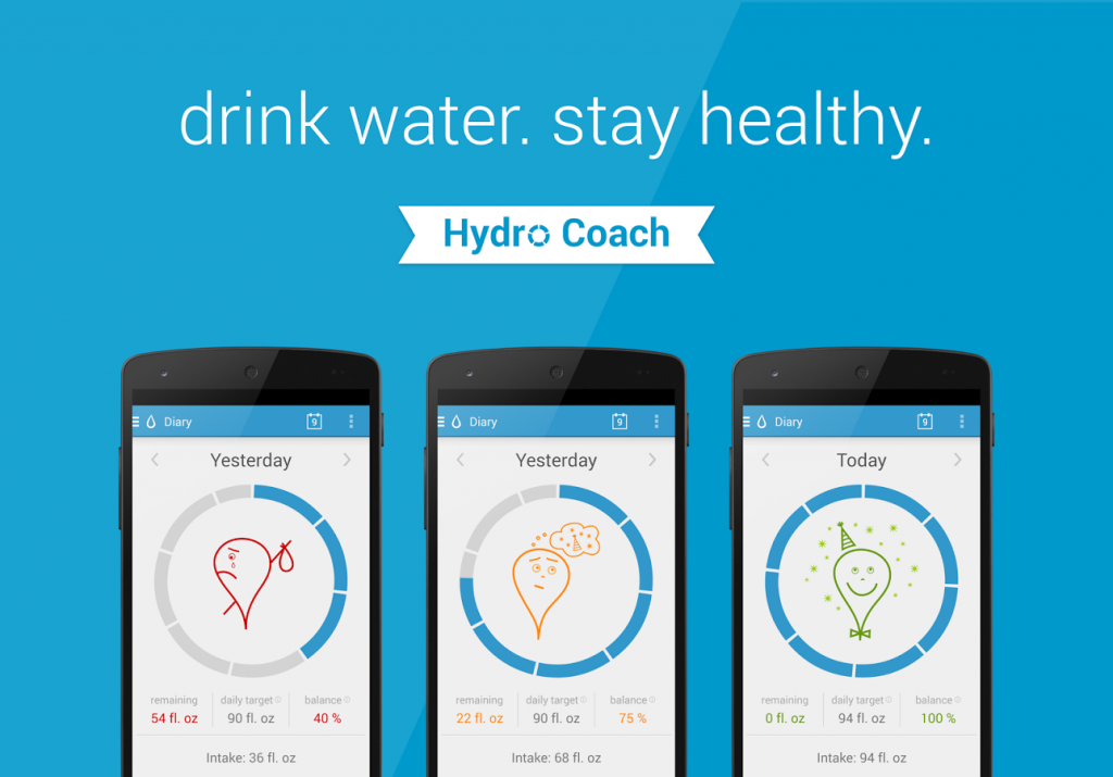 Hydro Coach | Five Mental Health Apps